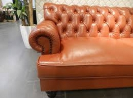 Cleaning and care of leather firniture